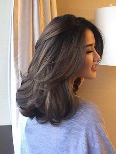 72 Best Beautiful ❤️ Medium Hairstyles Design for Women in 2019 - Page 57 of 70 - Diaror Diary #longhairstyles