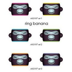 napkin ring By Stefano Giovannoni For Alessi - Alessi - Home Furnishings - Unica Home