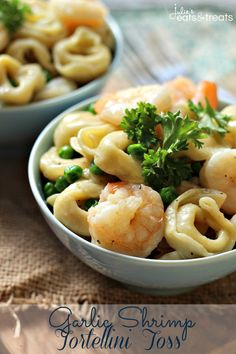 Garlic Shrimp Tortellini Toss Recipe
