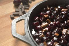 Cherry Chocolate Skillet Cobbler from Empowered Vitality // #dairyfree #glutenfree #grainfree // nutritionistinthekitch.com