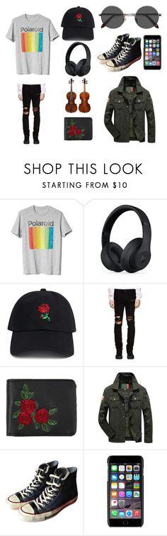 """alex"" by jjgordon0403 on Polyvore featuring Gap, Beats by Dr. Dre, 21 Men, RtA, Topman, Converse, Dolce&Gabbana, EyeBuyDirect.com, men's fashion and menswear"