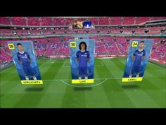 FA Cup Final Augmented Reality using Viz Virtual Studio & Spidercam - YouTube