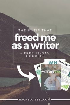 If you want to get to Real Good Writing, you first have to know who you are, what you're writing, and why you're writing it. Learn how thinking about the writer's DNA opened doors for my writing to be what I really wanted it to be. Plus, get a FREE 12-Day course on exactly how to discover your own Writer' DNA. Click through to read the whole post!