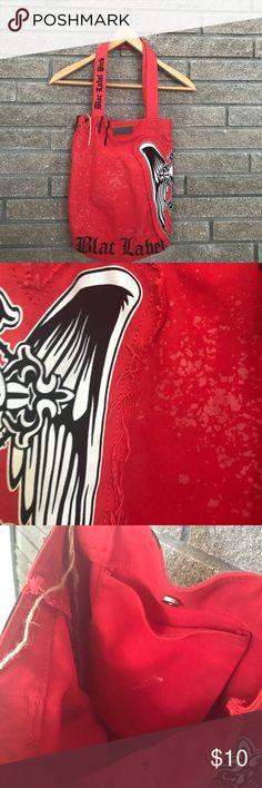 Black Label Bag Brand: Black Label Bag Condition: Good. Color: Red Black Label Bags