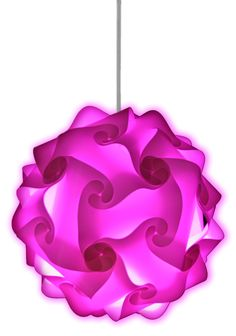 This modern, stylish pink lamp create the wow factor in any home, bar, restaurant or event. Available in a wide range of colors!
