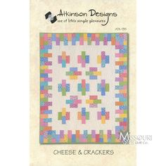Cheese and Crackers Quilt Pattern - Atkinson Designs