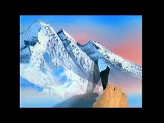 The Joy of Painting S12E13 Winter Mountain - YouTube