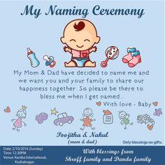 Naming Ceremony Invitation Card Maker Naming Ceremony Invitation Card Design In Marathi Naming Ceremony Invitation, Invitation Card Sample, Reception Invitations, Baby Invitations, Invitation Card Design, Invites, Business Invitation, Invitation Wording, Naming Ceremony Decoration
