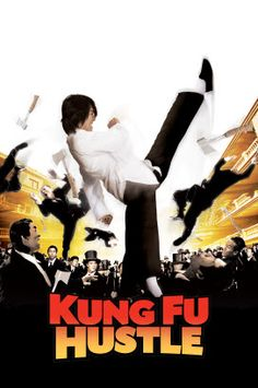 Kung Fu Hustle - This Chinese fantasy martial arts movie grew on me. If you don't mind subtitles its a great flick.