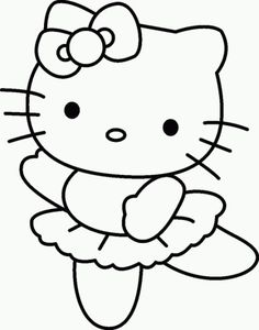 Free Printable Baby Hello Kitty Coloring Pages For Kids Picture 15 550x778