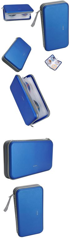 Media Cases and Storage: Cd Dvd Wallet Case Holder 70 Disc Storage Organizer Prevent Scratching Travel -> BUY IT NOW ONLY: $45.33 on eBay!