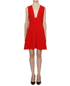 THAKOON ADDITION OPEN FRONT FLARED DRESS