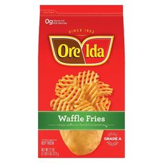 Cereal Recipes, Snack Recipes, Oven Baked Fries, Ore Ida, Baking Packaging, Burger And Fries, Frozen Meals, Fried Potatoes, Side Dishes Easy