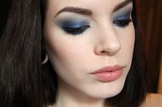 Great blue make-up by Killercolours