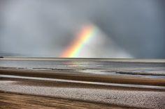 Rainbow Over Dungeness Romney Marsh, Romantic Travel, Rainbows, Family Travel, Northern Lights, Coast, Holidays, Sunset, Landscape