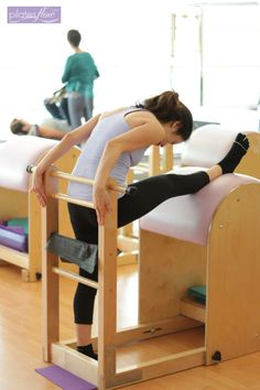 The Ballet Stretches on the Ladder Barrel are a great series of lengthening movements created by Joseph #Pilates to aid in flexibility while maintaining the correct alignment of the body.  www.thepilatesflow.com.sg  https://www.facebook.com/ThePilatesFlow