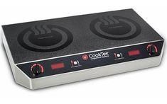 CookTek MC2502S Double Hob Induction Cooktop