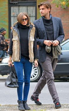 Bundled Up from Olivia Palermo's Street Style | E! Online