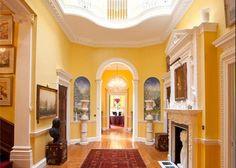 yellow interiors