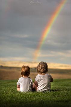 Rainbow watchers ©Adrian C Murray