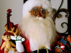Santa Claus Photograph - Our Family Santa by Arlane Crump Wood Print, Fine Art Photography, Fine Art America, Santa, Artists, Wall Art, Photographers, Painting, Group