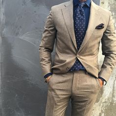 browns and blues // menswear, mens fashion, suit, spring suit, wedding suit, navy, mens fashion, mens style