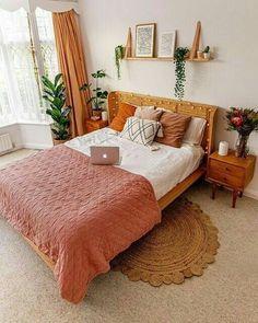 Bedroom Interior, Bedroom Design, Room Inspiration, Bedroom Decor, Aesthetic Room Decor, Home Decor, Aesthetic Bedroom, Room Ideas Bedroom, Apartment Decor