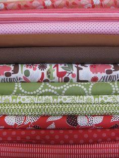 Fabricworm Custom Bundle, 2D Safari Holly, 12 Total