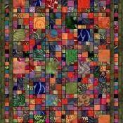Batik Squares - via @Craftsy