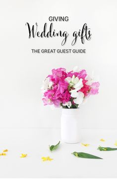 Wedding present ideas - frequently asked questions from guests re. wedding presents http://www.southernbride.co.nz/wedding-gift-etiquette-faqs/
