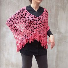 Berberis  Fashion Poncho Special or Capelet in Light by HEraMade, $96.00