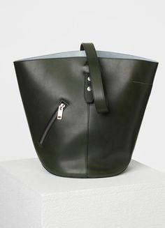 Bucket Biker Shoulder Bag in Natural Calfskin - セリーヌについて