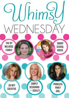 Whimsy Wednesday - August 6th - Princess Pinky Girl