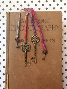 Keys Bookmark by Anteiqa