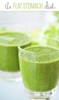 Foods that will help flatten your stomach. #diet. Juice/smoothie recipes.