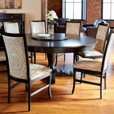 Furniture: Nice 36 Round Dining Table With Leaf from The Exotic ...