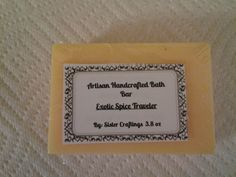 Exotic Spice Traveler Artisan Soap by SisterCraftings on Etsy