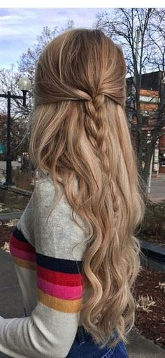 The Most Effective Hair Growth Shampoos & Conditioner – Kids Hairstyle Easy Hairstyles For Long Hair, Hairstyles For School, Pretty Hairstyles, Braided Hairstyles, Male Hairstyles, Hair Dos For School, Long Hair Dos, Kids Hairstyle, Toddler Hairstyles