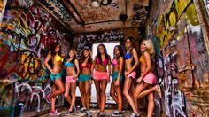 Hot Girls Graffiti Desktop Background Wallpapers