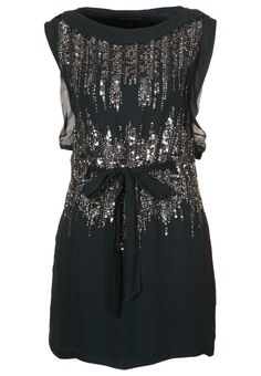 I am not much of a bling girl but this French Connection party dress is so pretty