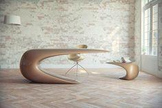 Futuristic Desk for a Sci-Fi Inspired Office