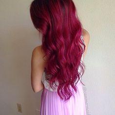 Magenta hair <3