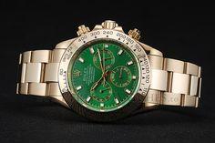 Image result for gold daytona green dial