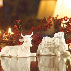 Belleek Manger Set - Christmas Nativity