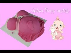 Gâteau Femme enceinte 3D Baby shower | How to Make a Pregnant Belly Cake - YouTube
