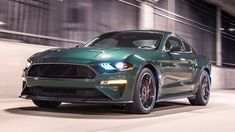 The 2019 Ford Mustang Bullitt edition honors the vehicle driven by Steve McQueen in the film Bullitt. Read more about it and see pictures of the 2019 Ford Mustang Bullitt at Car and Driver. Ford Mustang Bullitt, Ford Mustang Shelby, Mustang Cars, Ford Gt, Ford Ranger, Us Ranger, Steve Mcqueen, Pick Up, Sport Cars