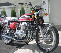 Honda 750 - I don't remember the year, or model, but I remember is was a Honda. I only drove it a few times solo, but it was a heck of a lot of power to have between your legs.