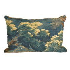 18th c. Aubusson Pillow