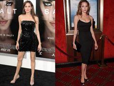 10 belles femmes de célébrités dans petites robes noires (II)