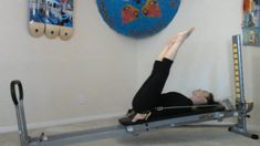 Pilates Exercises You Didn't Know You Could Do on the Total Gym - Week 1 - Total Gym Pulse Pilates Workout, Pilates Yoga, Pilates Chair, Beginner Pilates, Pop Pilates, Pilates Video, Pilates Reformer, Workout Routines, Pilates Studio